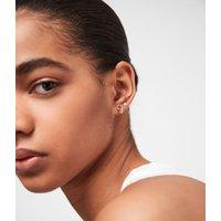 AllSaints Hexmix Gold-Tone Earring Set