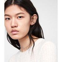 AllSaints Kailey Gold-Tone Stud Earrings