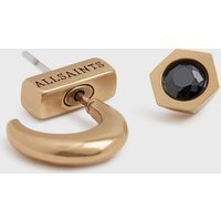 AllSaints Keely Gold-Tone Earring Set