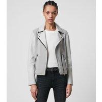 AllSaints Dalby Mix Leather Biker Jacket