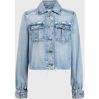 AllSaints Maisy Denim Shirt Jacket