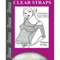Click to view product details and reviews for Clear Straps Wide.