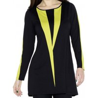 Colour Wedge Tunic Top