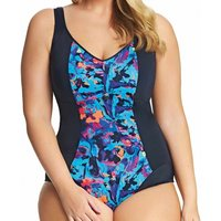 Abstract Moulded Cups Swimsuit