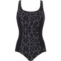 Chlorine Resistant Moulded Cup Shaping Swimsuit