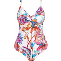 Click to view product details and reviews for Paradise Bay Twist Front Underwired Swimsuit.