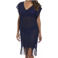 Antheia V-neck Crochet Tunic Beach Cover
