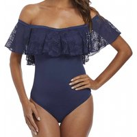 Click to view product details and reviews for Marseille Underwired Bardot Swimsuit.