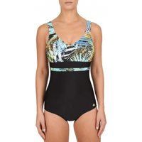 Click to view product details and reviews for Green Fig Moulded Cups V Neck Swimsuit.