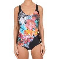 Click to view product details and reviews for Modern Flower Moulded Cups Control Swimsuit.
