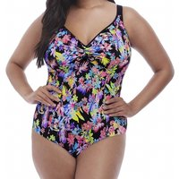 Click to view product details and reviews for Electroflower Soft Cup Adjustable Neckline Swimsuit.