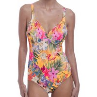 Click to view product details and reviews for Anguilla Plunge Underwired Swimsuit With Light Control.