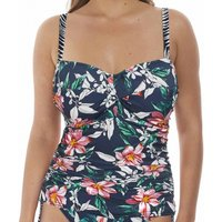 Click to view product details and reviews for Port Maria Underwired Twist Front Tankini Top.
