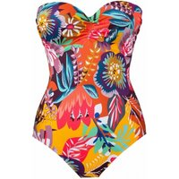 Click to view product details and reviews for Sun Underwired Padded Bustier Swimsuit.