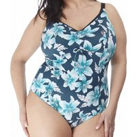 Click to view product details and reviews for Island Lily Moulded Cup Non Wired Swimsuit.