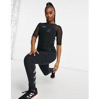 adidas Originals tight t-shirt in black