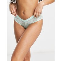 Aerie lace boy brief in green
