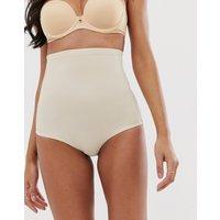 Dorina bridget high super waist beige control brief-Neutral