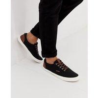 Chaussures à lacets Jack&Jones pour homme, en noir