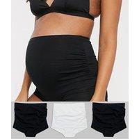 Lindex maternity 3 pack briefs-Multi