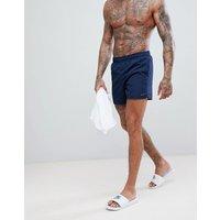 Nike — Volley — Marineblå ekstra korte badebukser NESS8509-489