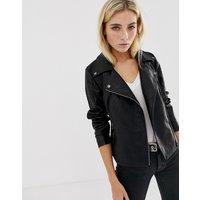 Noisy May - Rebel PU Jacket - Girls jacket - black
