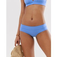 & Other Stories hipster bikini briefs in bright shiny blue