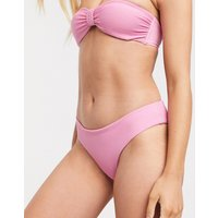 & Other Stories ribbed bikini briefs in pink