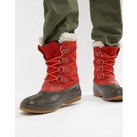 Pac nylonsnestøvler i rød fra Sorel