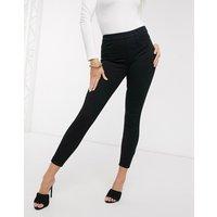 Spanx ankle grazer jean-ish leggings-Black