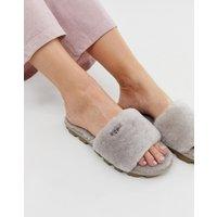 UGG Cozette slide slippers in oyster-Grey