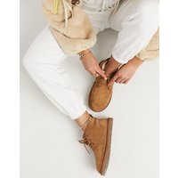 UGG Neumel Chestnut Lace Up Ankle Boots-Tan