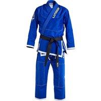 Blitz Adult Lutador Brazilian Jiu Jitsu Gi - Blue - 550g - A1