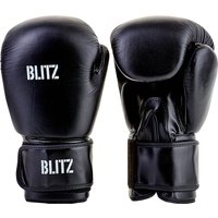 Blitz Pro Boxing Gloves - Black - 14oz