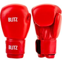 Blitz Pro Boxing Gloves - Red - 14oz