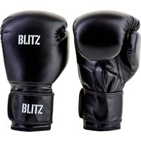 Blitz Training Boxing Gloves - Black - 14oz