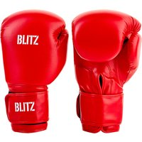 Blitz Training Boxing Gloves - Red - 14oz