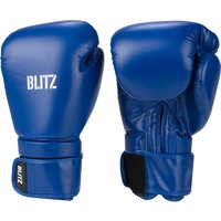 Blitz Omega Boxing Gloves - Blue - 14oz