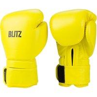Blitz Omega Boxing Gloves - Neon Yellow - 14oz