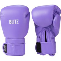 Blitz Omega Boxing Gloves - Purple - 14oz