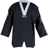 Blitz Adult Classic Freestyle Top - Black / White - 3/160cm