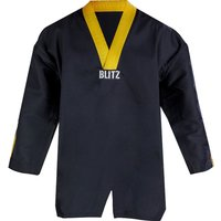 Blitz Adult Classic Freestyle Top - Black / Yellow - 3/160cm