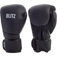 Image of Blitz Carbon Boxing Gloves - Black - 10oz
