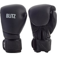 Blitz Carbon Boxing Gloves - Black - 14oz
