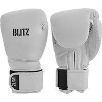 Image of Blitz Carbon Boxing Gloves - White - 10oz