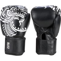 Blitz Firepower Muay Thai Boxing Gloves - Black - 14oz