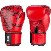 Blitz Firepower Muay Thai Boxing Gloves - Red - 14oz
