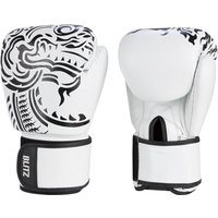 Blitz Firepower Muay Thai Boxing Gloves - White - 10oz