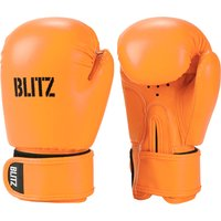 Blitz Kids Omega Boxing Gloves - Neon Orange
