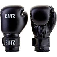 Blitz Kids Training Boxing Gloves - Black - 10oz